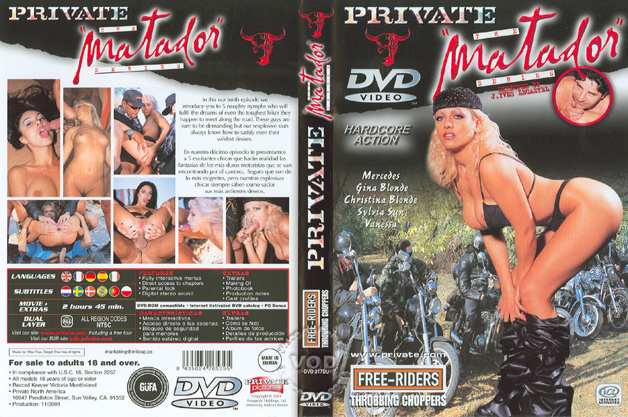 "Free Riders, Throbbing Choppers - Private ""The Matador"" 10 (2001)"