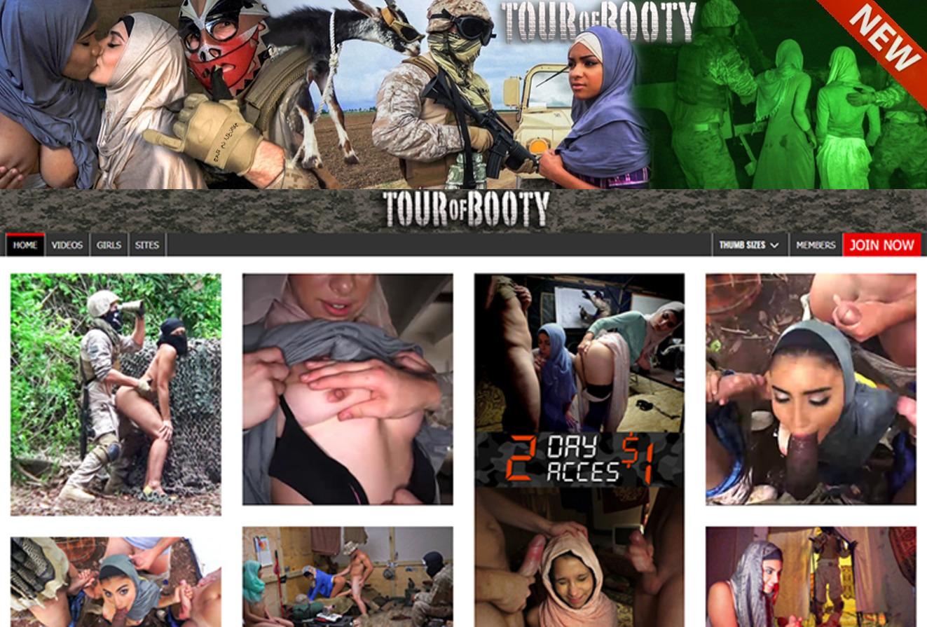 TourOfBooty.com SITERIP - all 10 videos