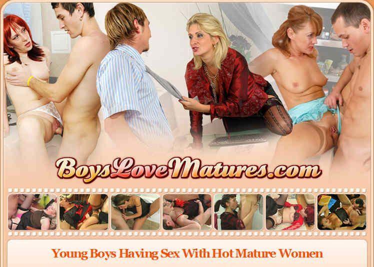 [BoysLoveMatures.com] SITERIP (65) [Mature, MILF, Lingerie, DVDRip]