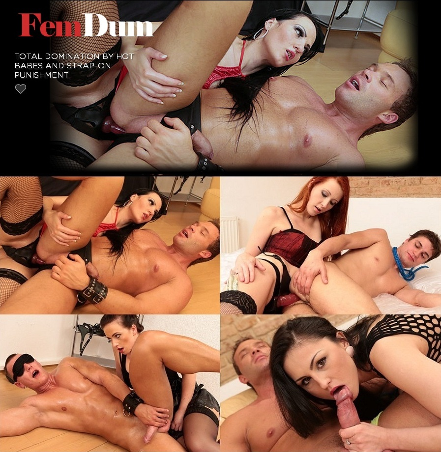 [FemDum.com / Submissed.com] SITERIP (17) [Femdom, Strap-on, Smoking, FaceSitting, 720p]