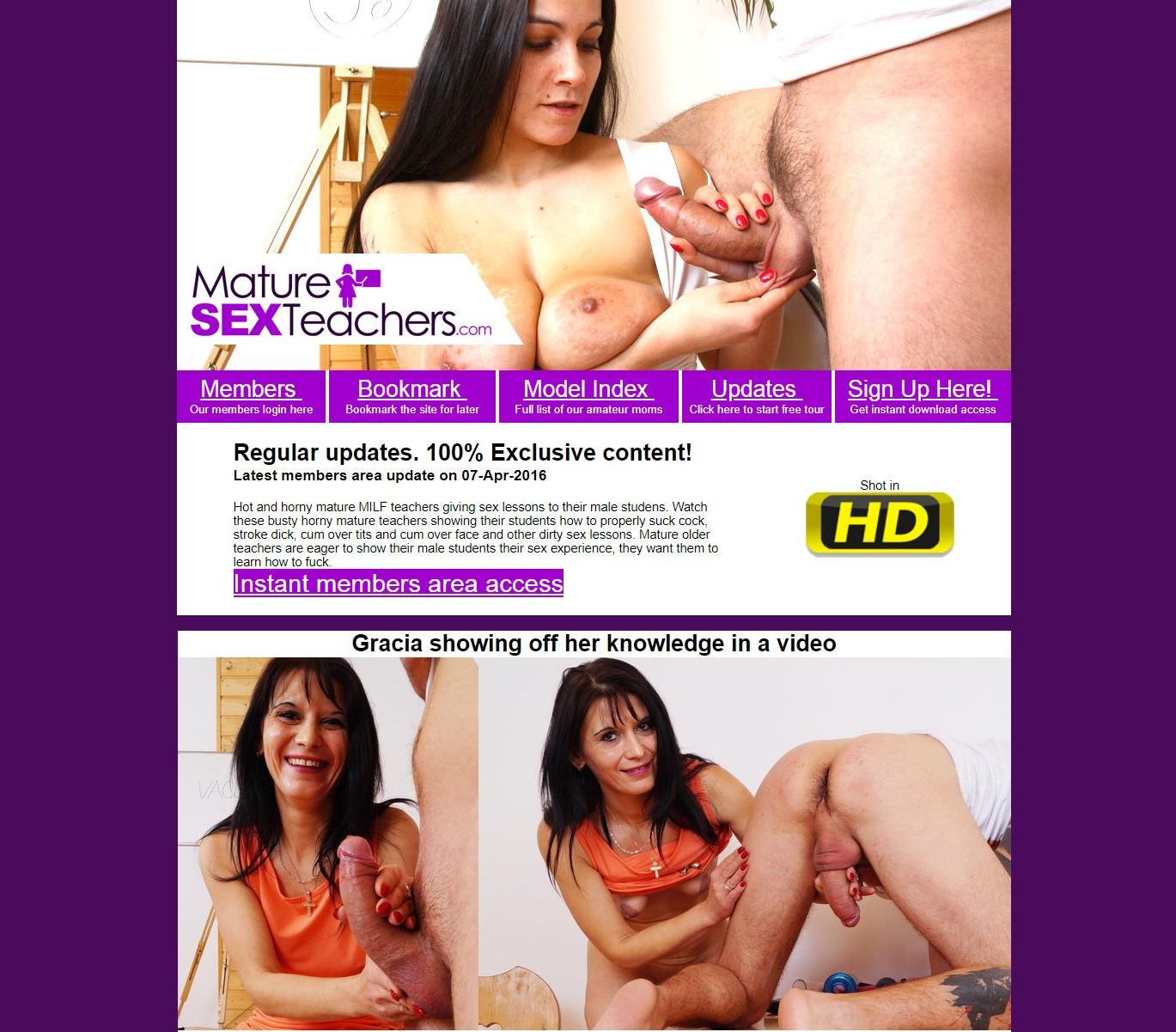 MatureSexTeachers.com SITERIP - all 14 videos