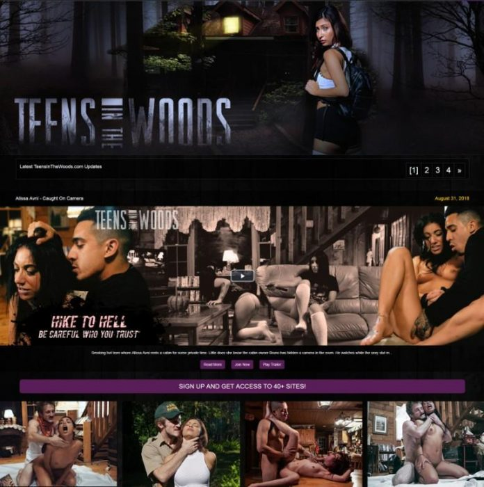 TeensInTheWoods.com - SITERIP [Rough Sex, Submission, Gagging, Slapping]