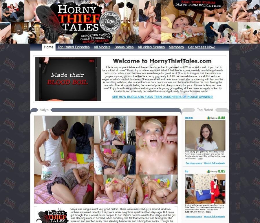 [HornyThiefTales.com] SITERIP (52) [Teen, Creampie, Rape Roleplay]