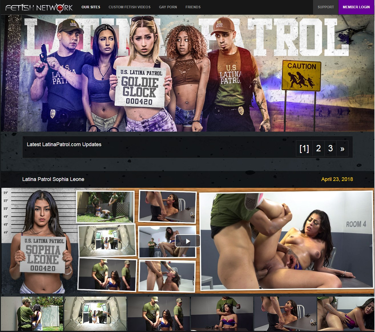 LatinaPatrol.com SITERIP - all 8 videos