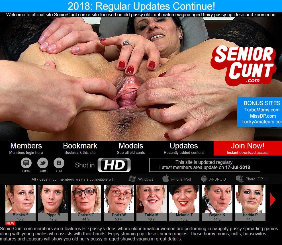 [SeniorCunt.com] SITERIP (79) [Mature, Fingering, CloseUp]