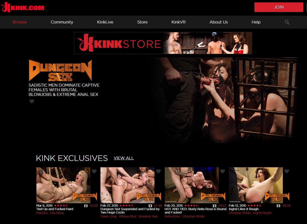 DungeonSex.com SITERIP - all 16 videos