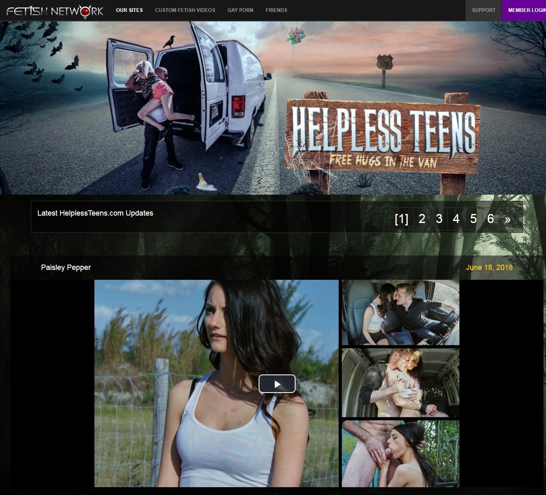 HelplessTeens.com SITERIP - all 62 videos