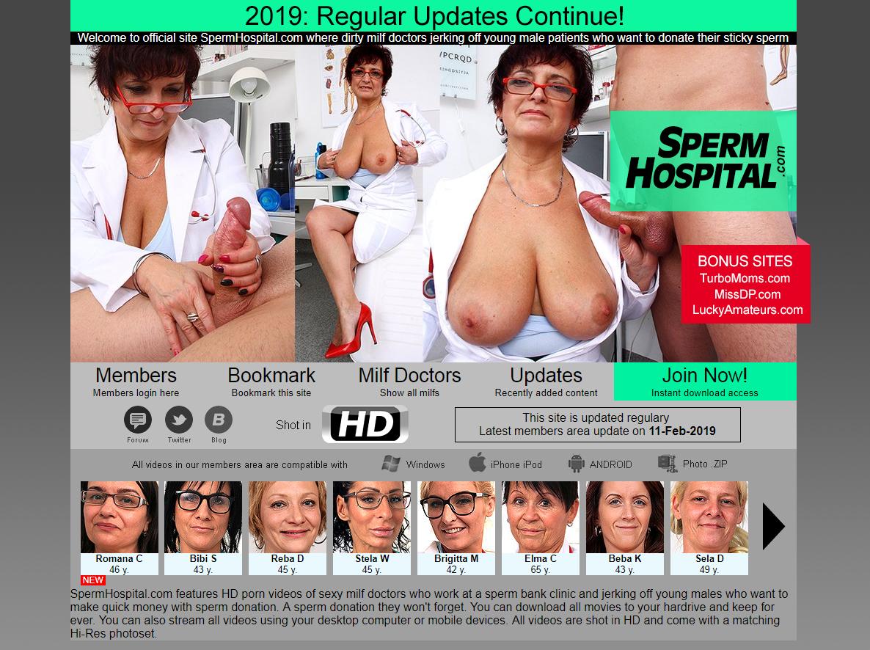 [SpermHospital.com] SITERIP (80) [Czech, Jerking, Handjob, MILF, Mature]