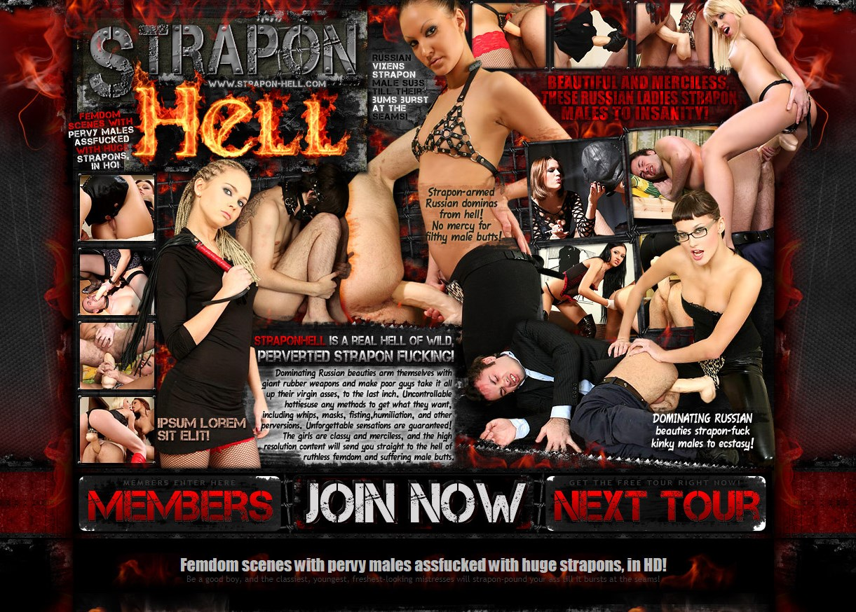 Strapon-Hell.com SITERIP - all 55 videos
