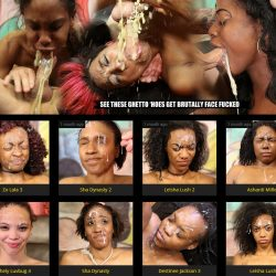 GhettoGaggers.com SITERIP - all 358 face fucking videos
