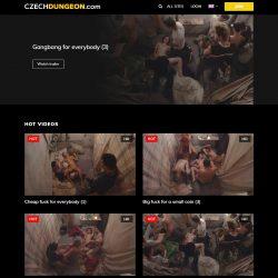CzechDungeon.com / CzechAV.com SITERIP - all 18 videos