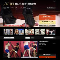 Cruel-Ballbustings.com SITERIP - all 116 videos