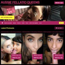 AussieFellatioQueens.com - SITERIP [129 HD Videos]