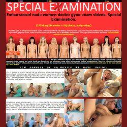 SpecialExamination.com - SITERIP [164 HD gynecologic videos]