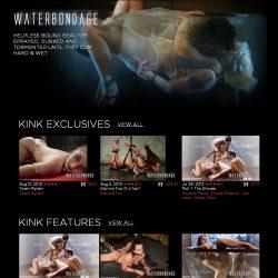 WaterBondage.com / Kink.com – SITERIP [279 Videos]