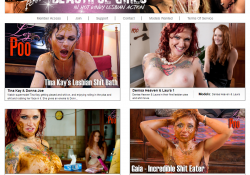 [Lezpoo.com] SITERIP (Femanic) (494) [Lesbian, Scat, Shit, Pee, Vomit, Enema]